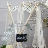Wedding Stationery Wedding Wands-Ivory