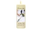 Image of Couple + Bouquet Candle with Keepsake Wrap