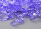 Wedding Stationery Large Lilac Diamante Stones