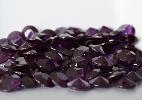 Wedding Stationery Large Purple Diamante Stones