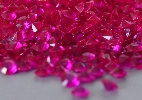 Wedding Stationery Small Hot Pink Diamante Stones